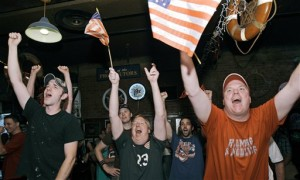 US win triggers coast-to-coast celebrations