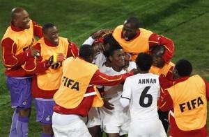 Gyan penalty kick gives Ghana 1-0 win
