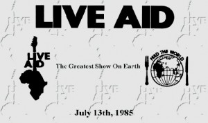 25th anniversary of Live Aid marked Tuesday