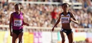 Ethiopia's Meseret Defar wins 5000m in Sweden
