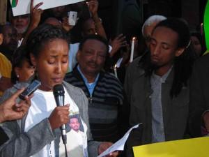 Ethiopia: Somber scene at vigil outside DC9