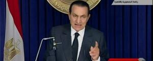 Egypt's Mubarak Steps Down